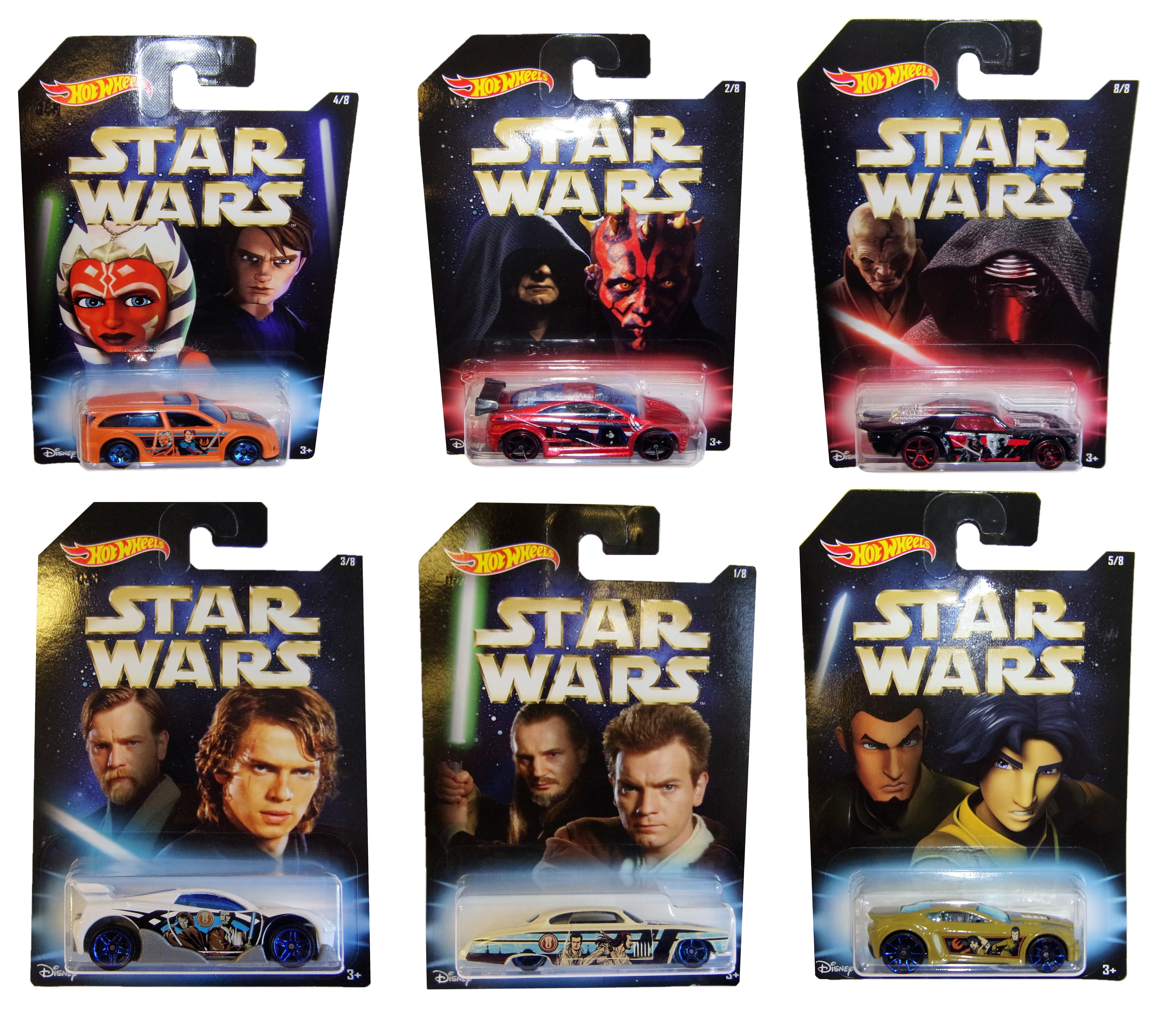 Hot Wheels Star Wars Modell-Autos DWD85 (Auswahl)