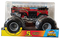 Hot Wheels GBV34 - Monster Trucks 5 Alarm, Maßstab 1:24
