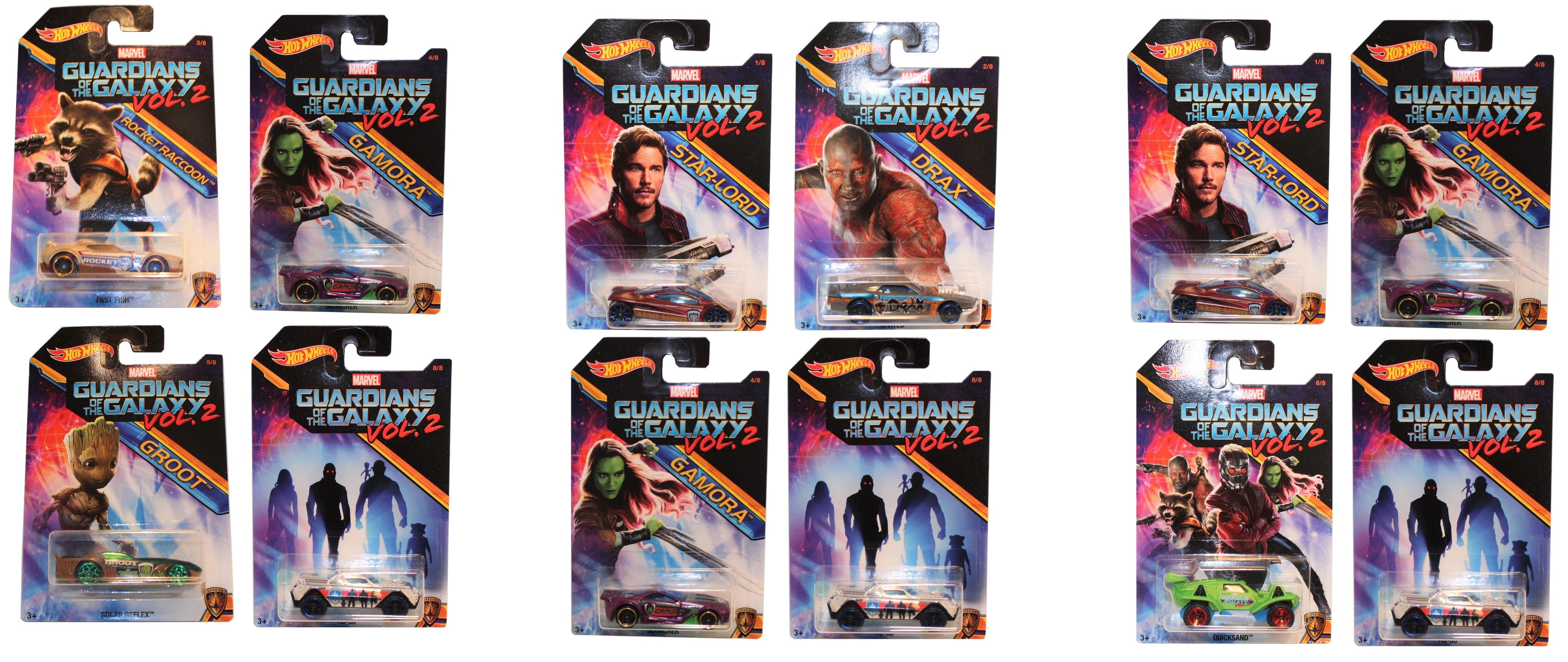 Hot Wheels Guardians of the Galaxy verschiedene 4er Sets (Auswahl)