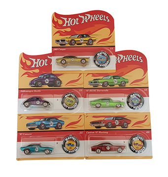 Hot Wheels Redline Replica 50th Anniversary 5er Set 2018