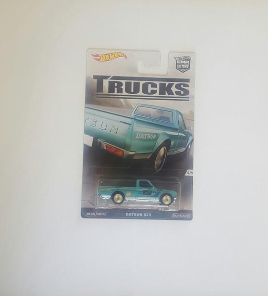 Hot Wheels TRUCKS 5/5 Datsun 620