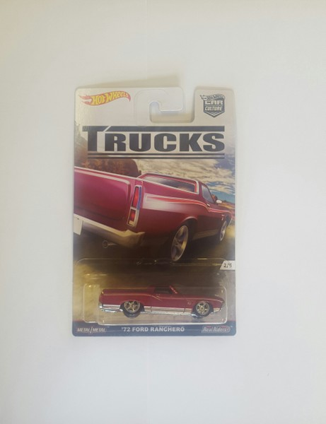 Hot Wheels TRUCKS Rennwagen 2/5 `78 Ford Ranchero