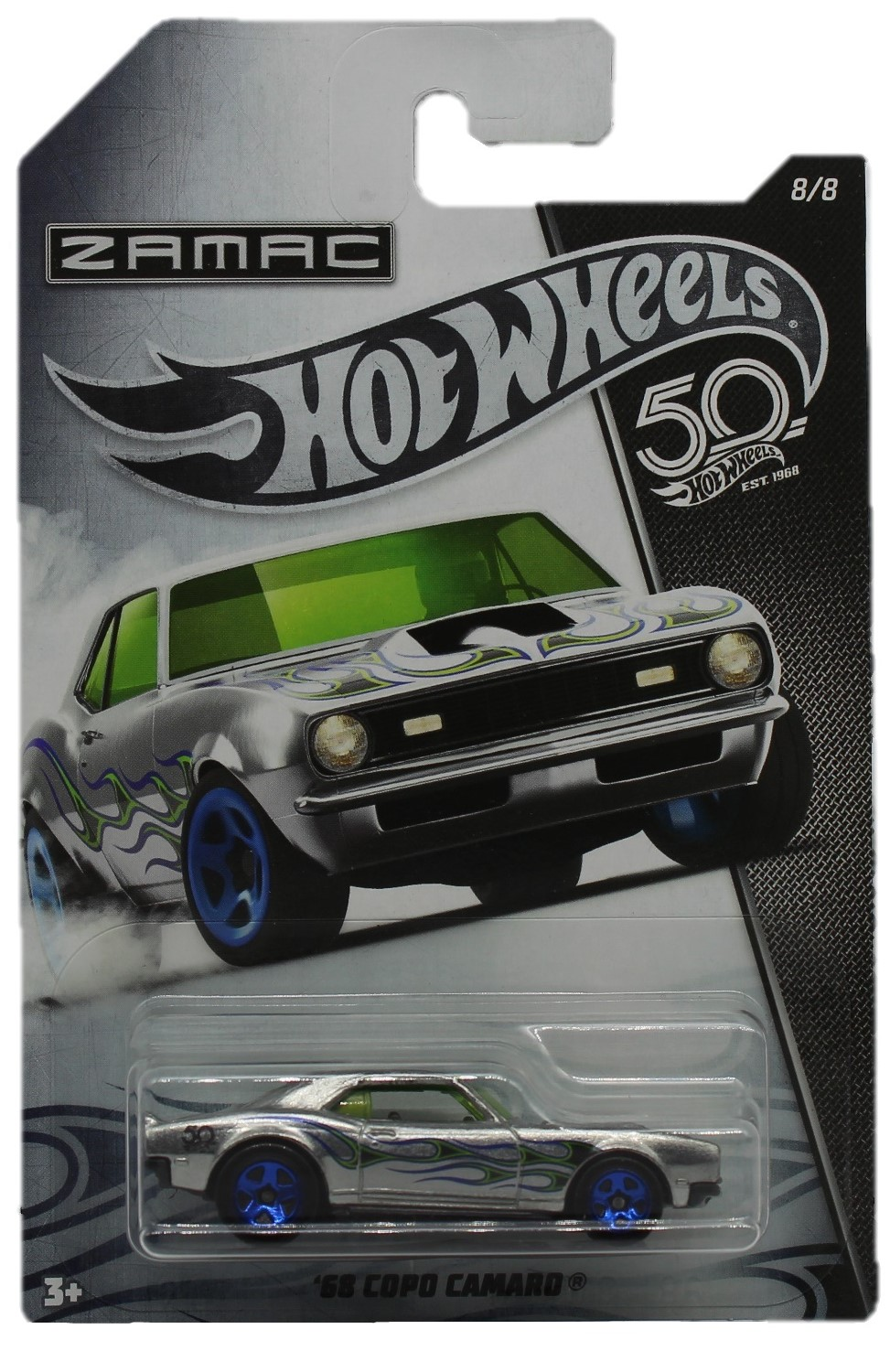 Hot Wheels 50th Anniversary Zamac Modellauto ´68 Copo Camaro