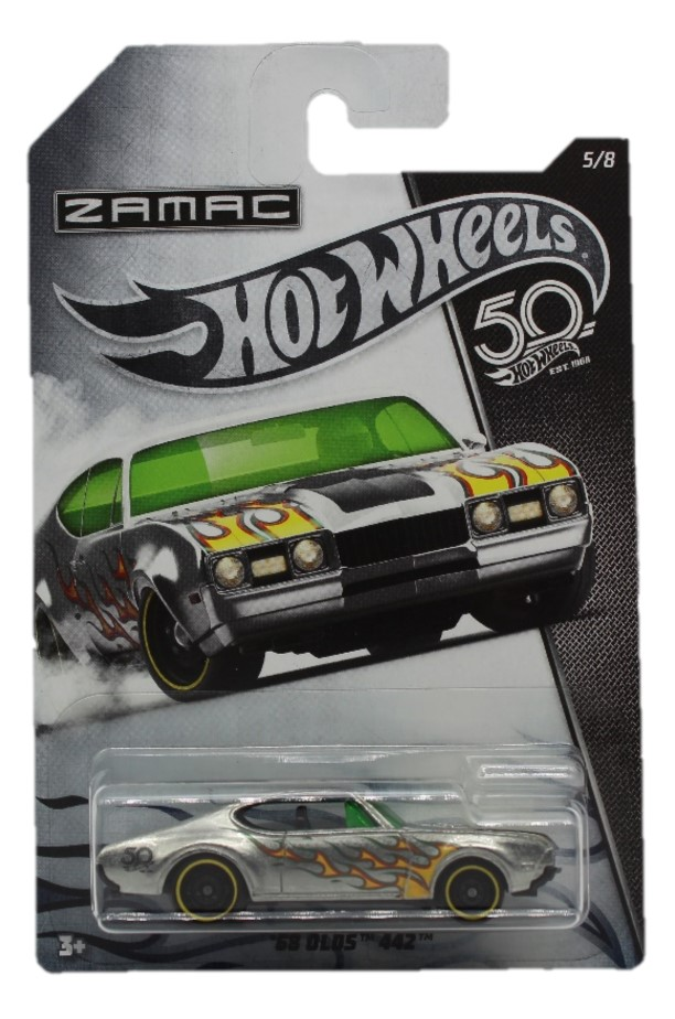 Hot Wheels 50th Anniversary Zamac Modellauto ´68 Olds 442