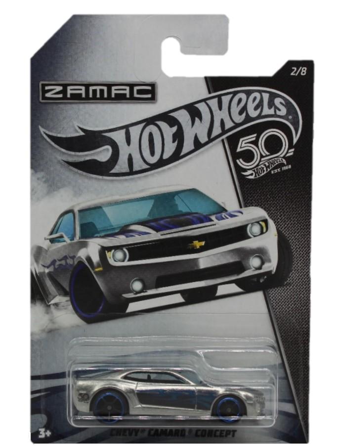 Hot Wheels 50th Anniversary Zamac Modellauto Chevy Camaro Concept
