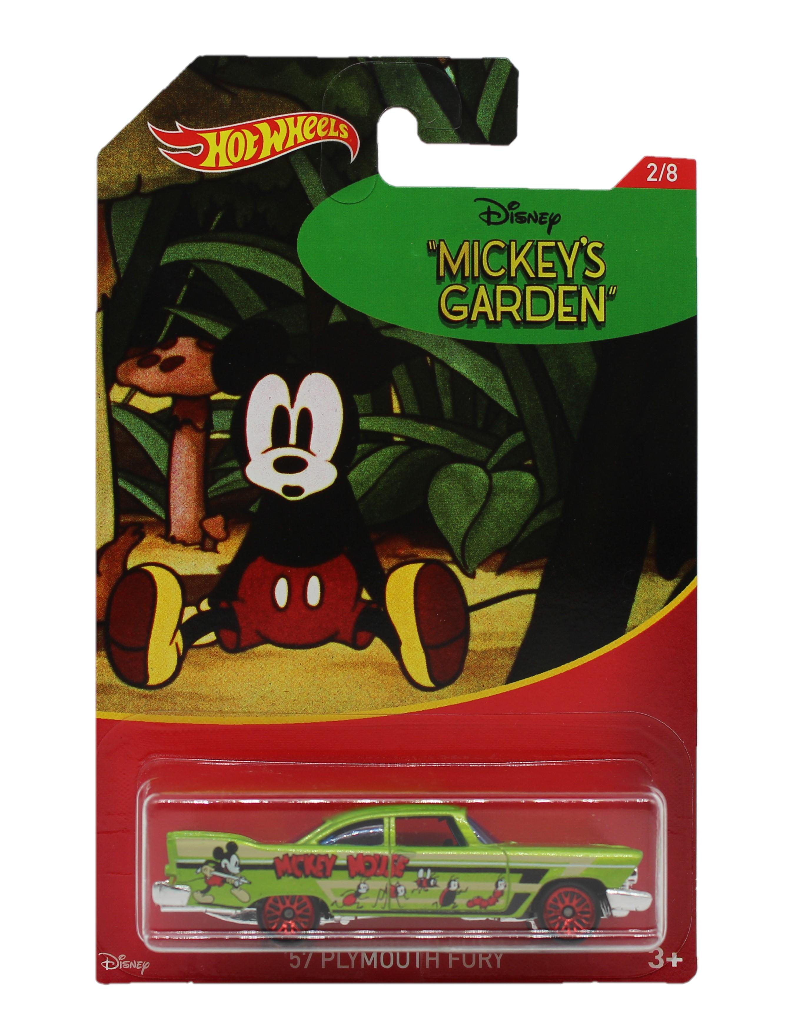 Hot Wheels Disney Mickey Mouse Fahrzeug ´57 Playmouth Fury