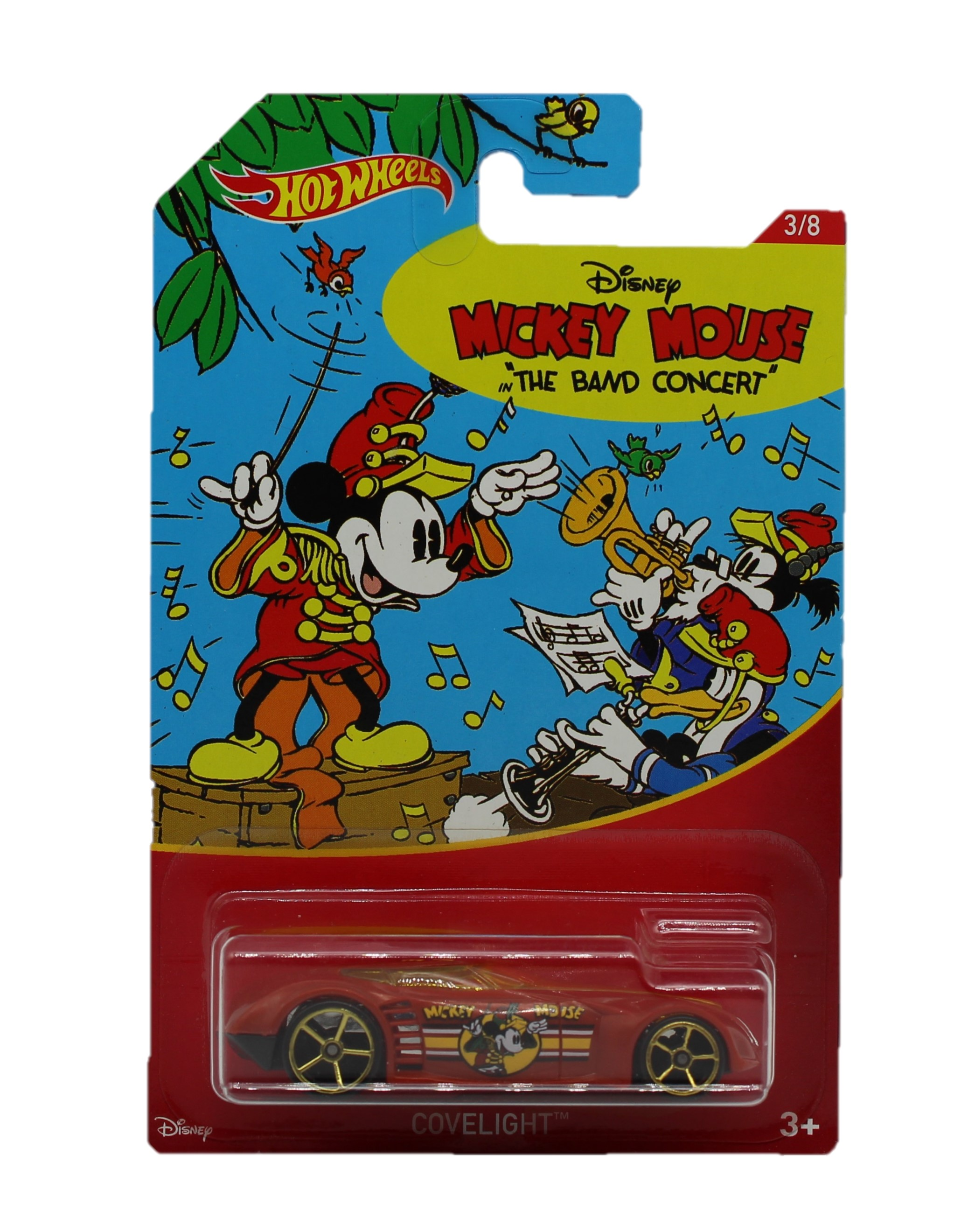 Hot Wheels Disney Mickey Mouse Fahrzeug Covelight