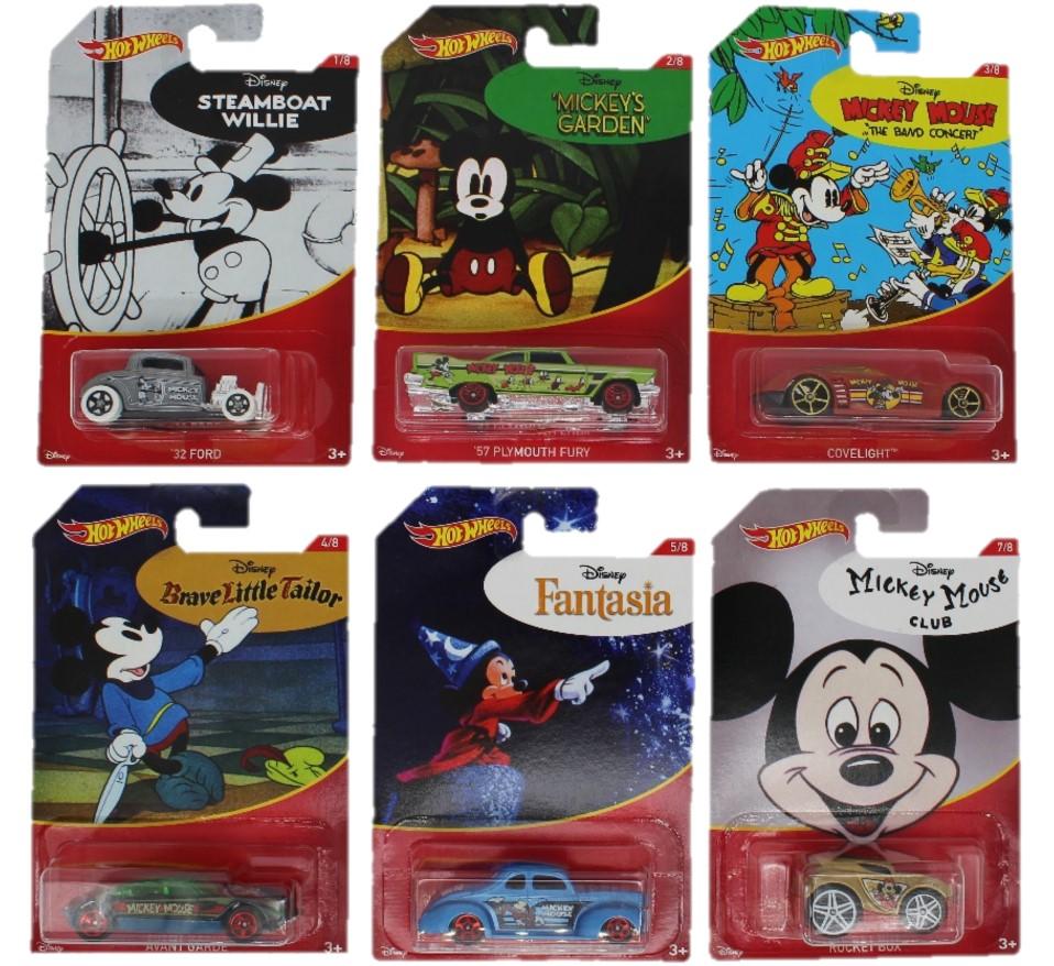 Hot Wheels Disney Mickey Mouse verschiedene Modell-Fahrzeuge (Auswahl)