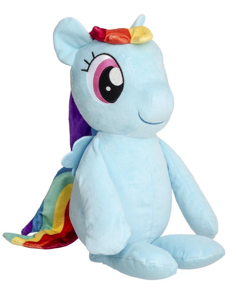 Hasbro My Little Pony C0122EP6 RAINBOW DASH Riesenplüsch 55 cm Blau