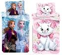 Disney Bettwäsche-Set Frozen 2 oder Aristocats 140 x 200 + 70 x 90 cm, (Auswahl)