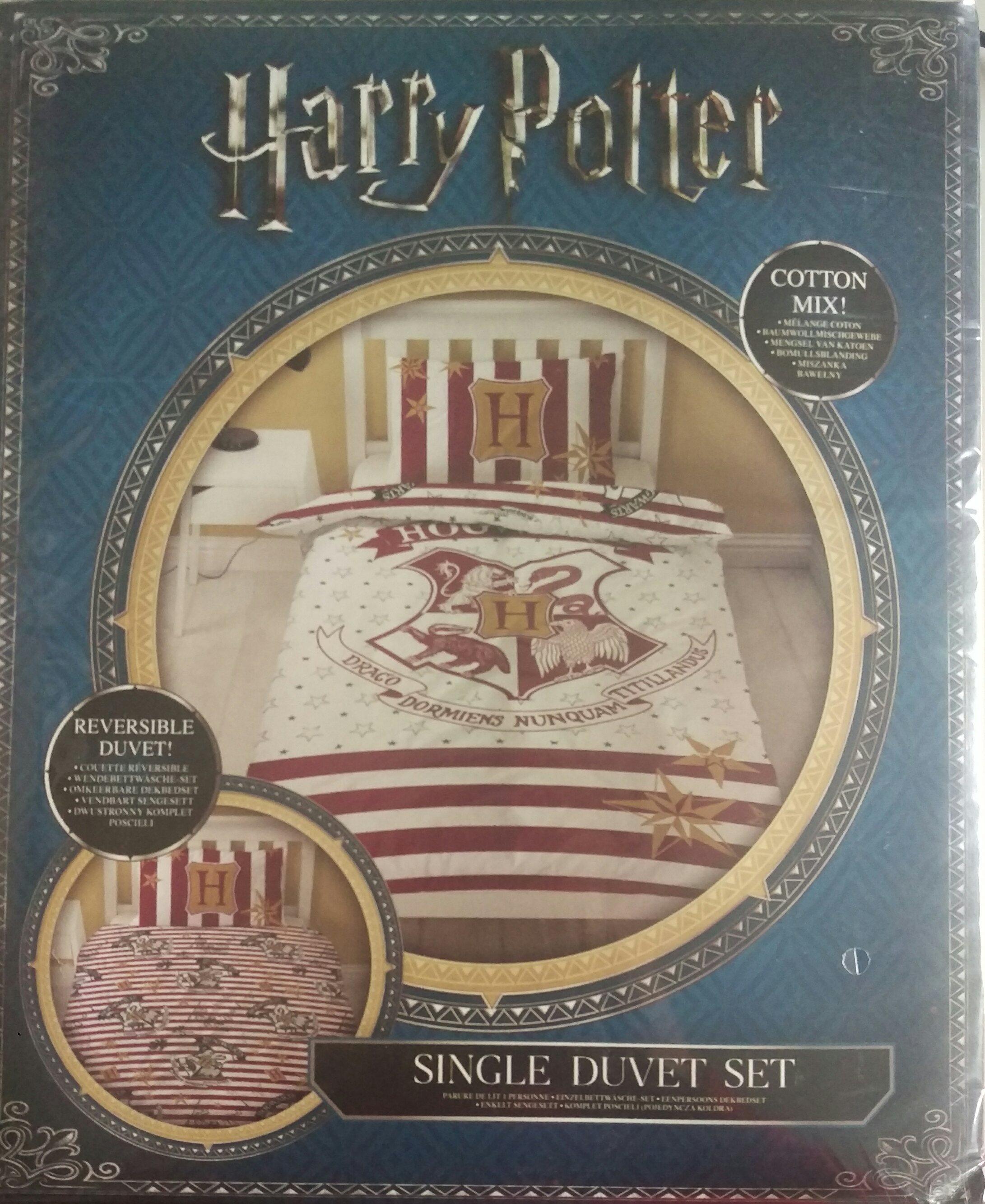 """Harry Potter """"Muggles"""" Einzeldaunendecke mit dem großen Abdruck"""