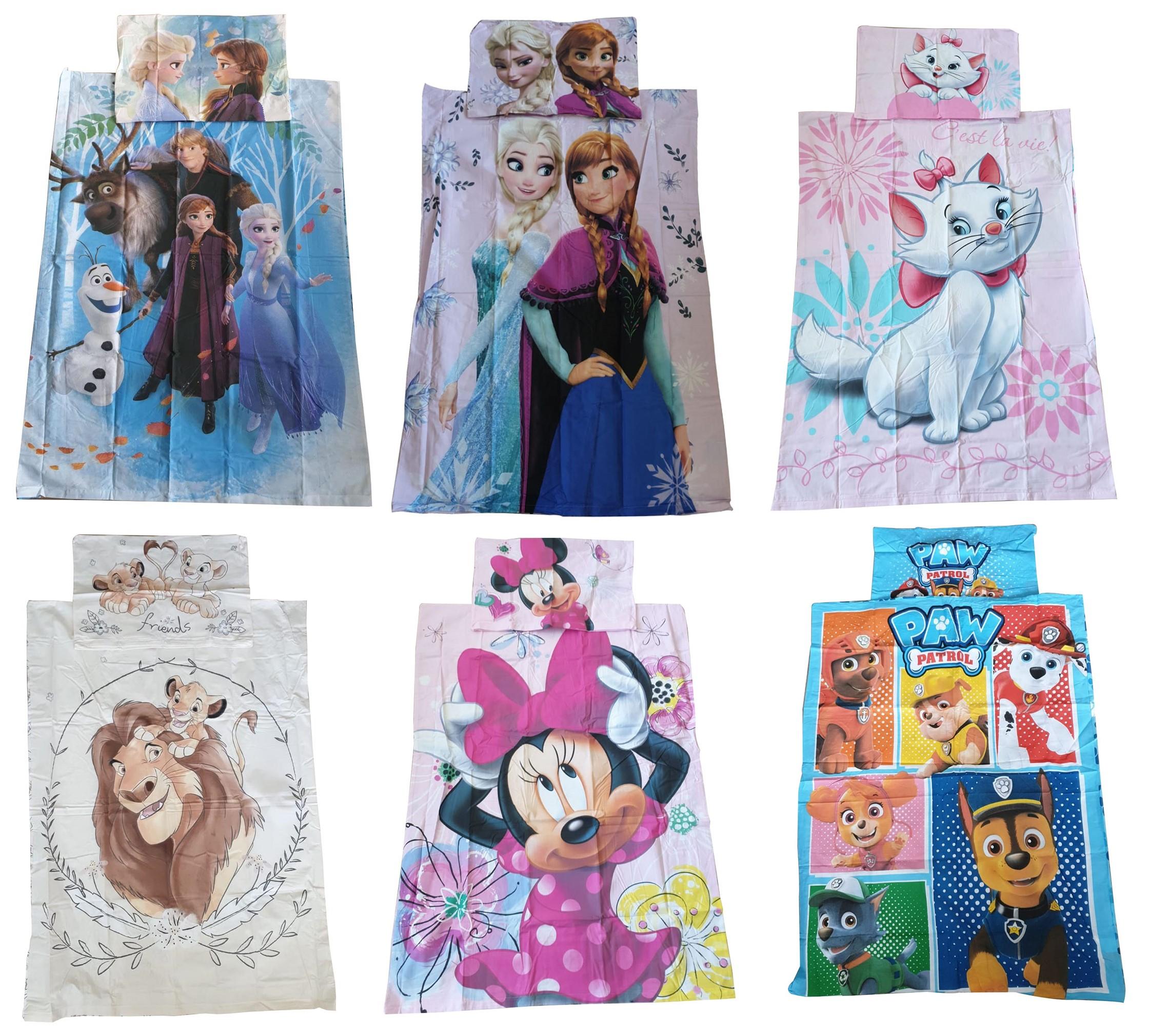 JF Babybettwäsche Kinderbettwäsche verschiedene Motive 100 x 135 cm 100 % Baumwolle (Auswahl)