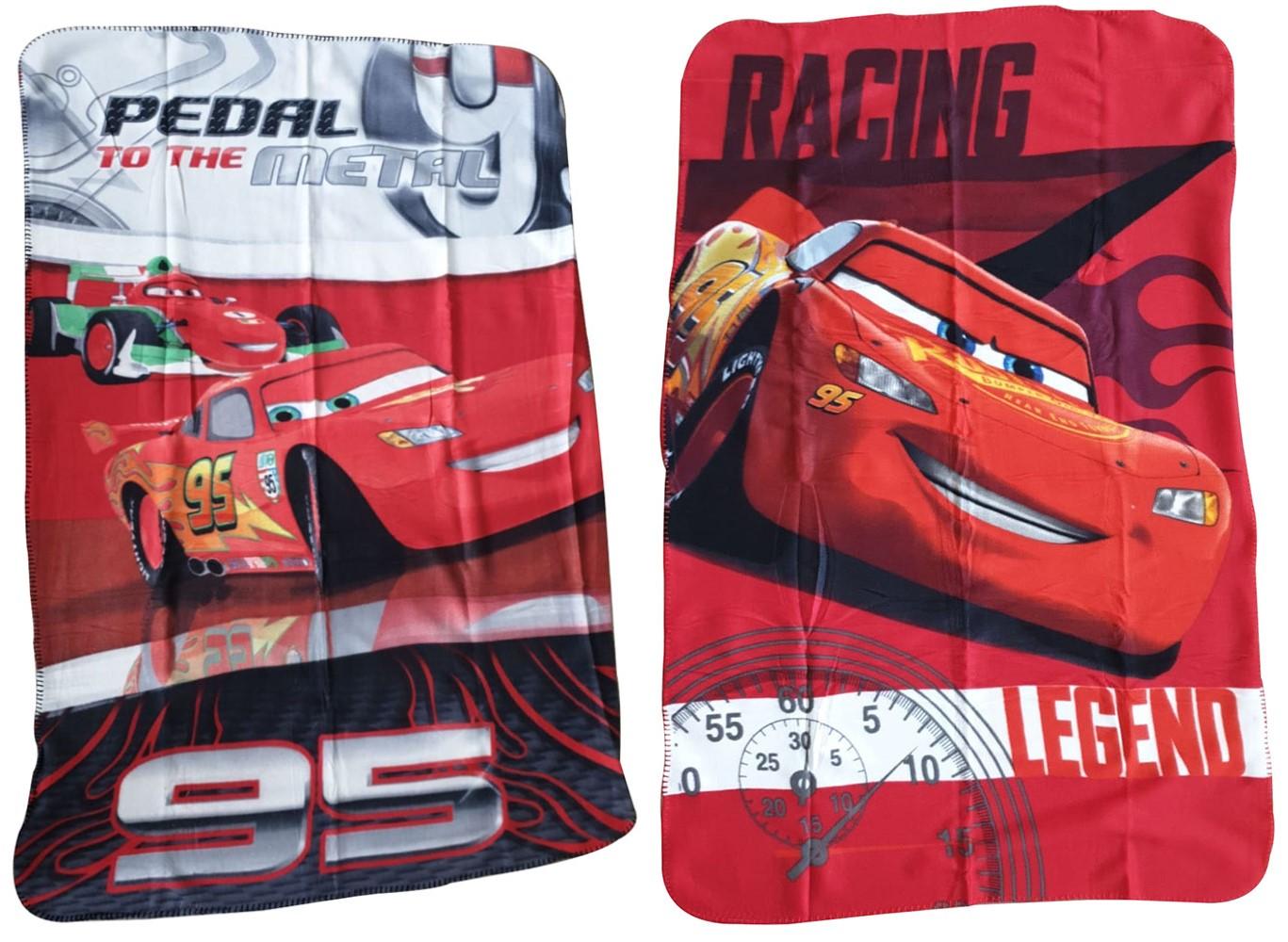 JF Fleecedecke Disney Cars mit Lightning McQueen, diverse Variationen (Auswahl)