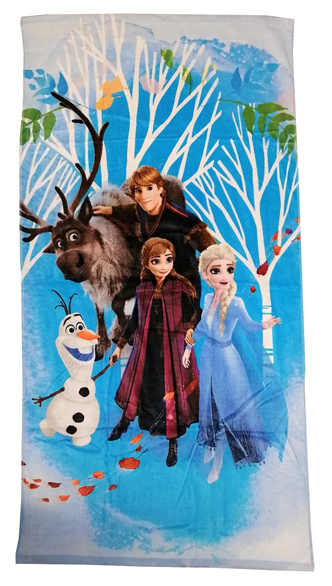 Disney Frozen 2 Handtuch Elsa, Anna, Kristoff und Olaf 70 x 140 cm 100% Baumwolle