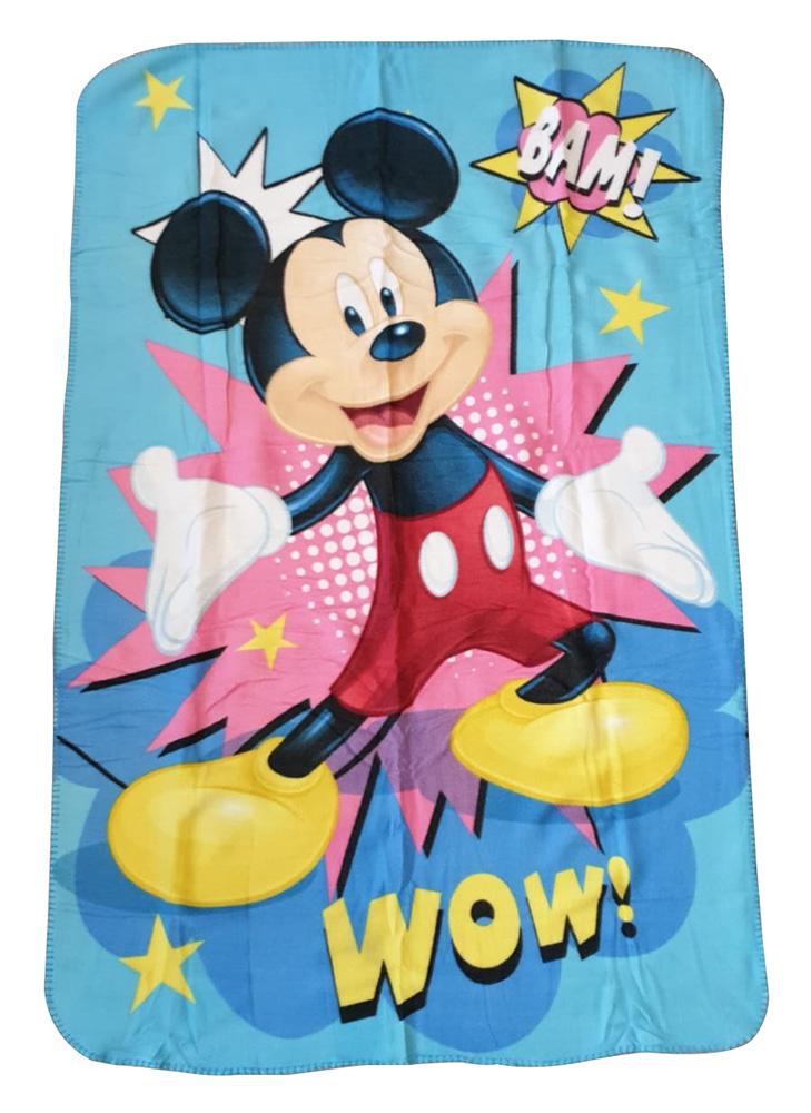JF Fleecedecke Disney Mickey Maus Bam Wow 100 x 150 cm kuschelweich