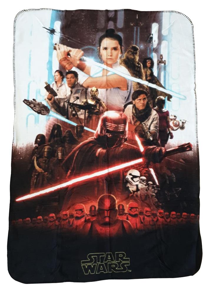 JF Fleecedecke Star Wars Der Aufstieg Skywalkers 100 x 150 cm kuschelweich
