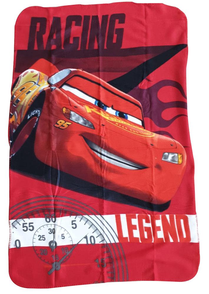 JF Babydecke Disney Cars Lightning McQueen, 100 x 150 cm, für Kinder ab 0 Jahre
