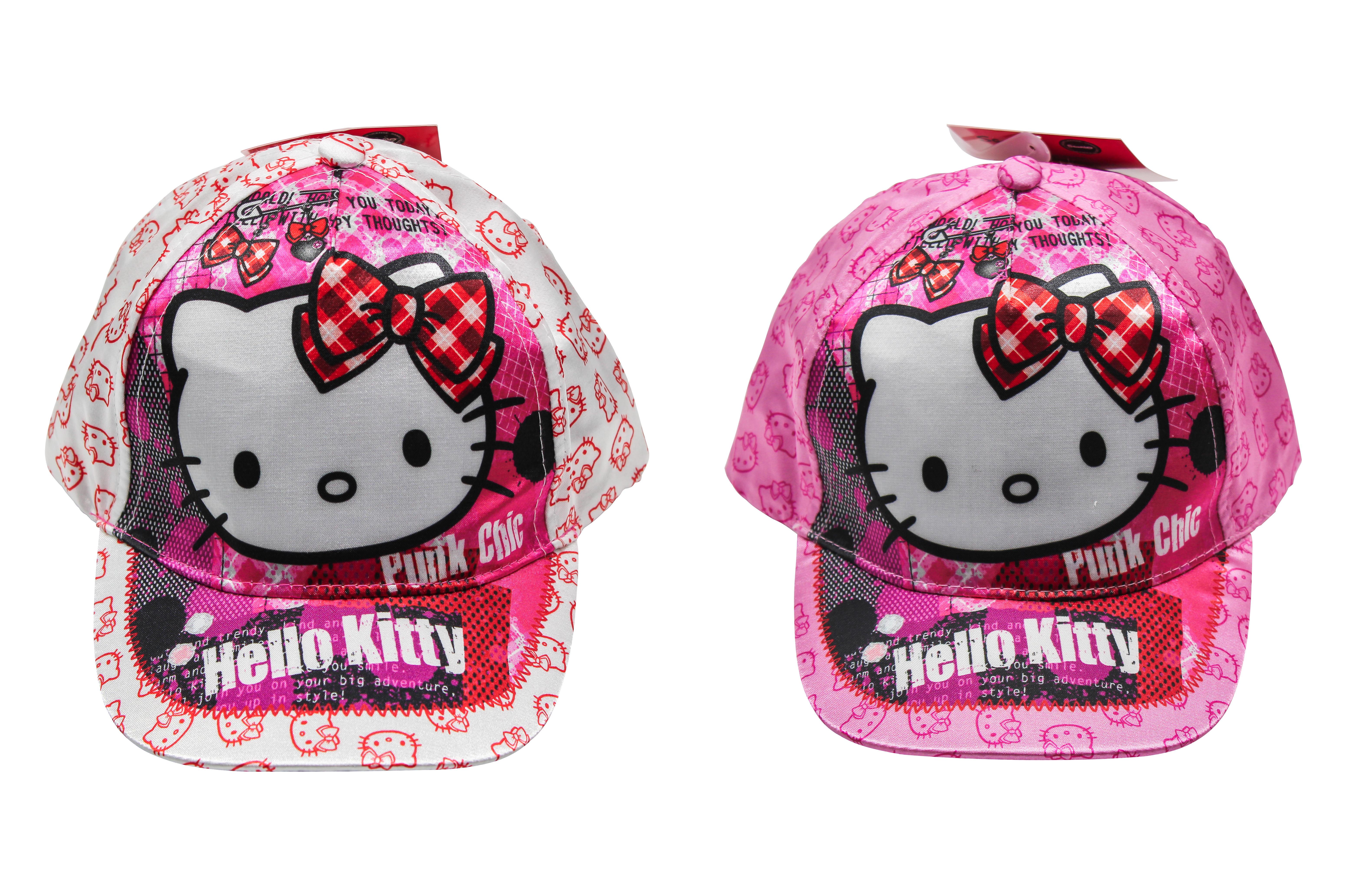 Kappe Hello Kitty in Weiß und Pink (Auswahl)