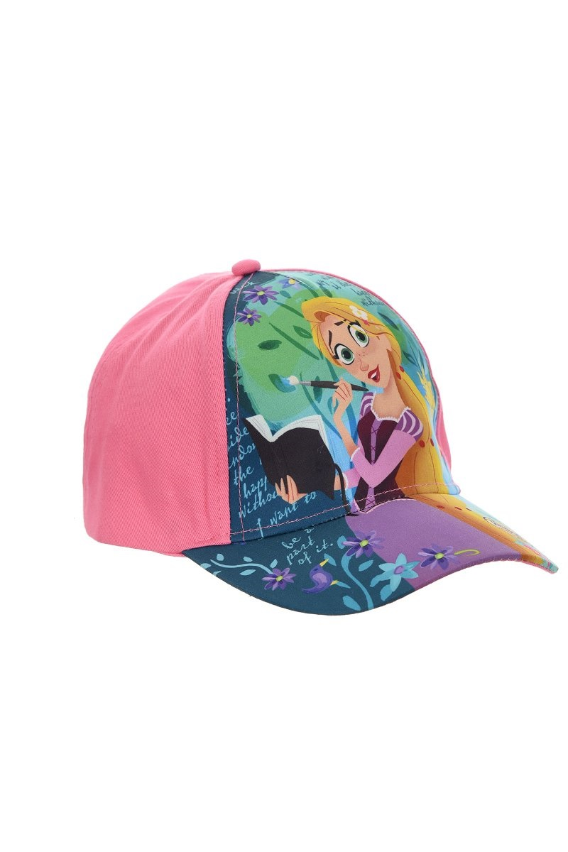 Kappe Rapunzel für Kinder Pink 52