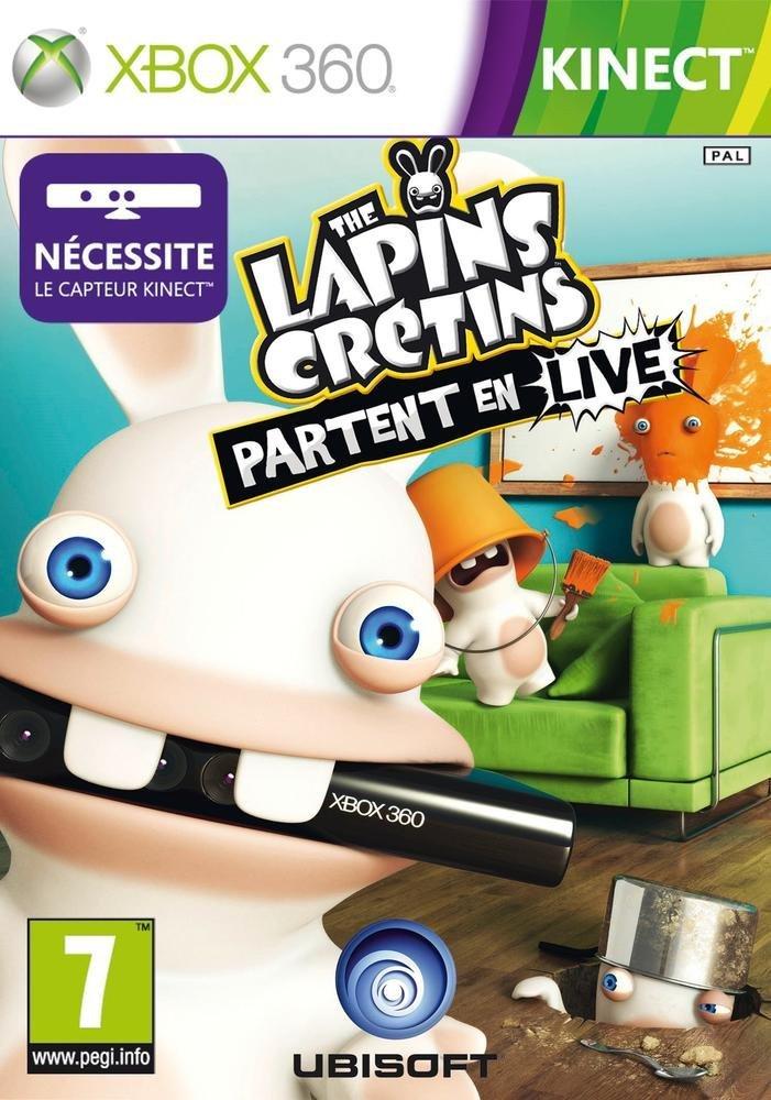 Les Lapins Crétins: PARTENT in Live (Jeu Kinect) [Französische Import]