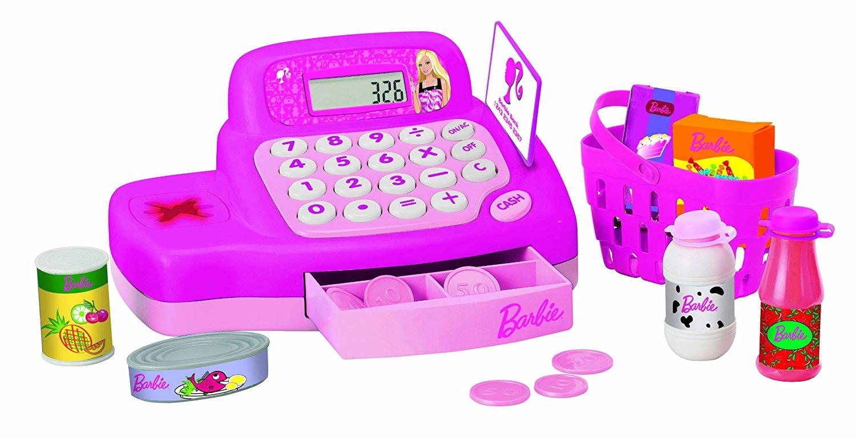 Lexibook RPB525 Kinder Spiel Kasse Barbie Gebraucht