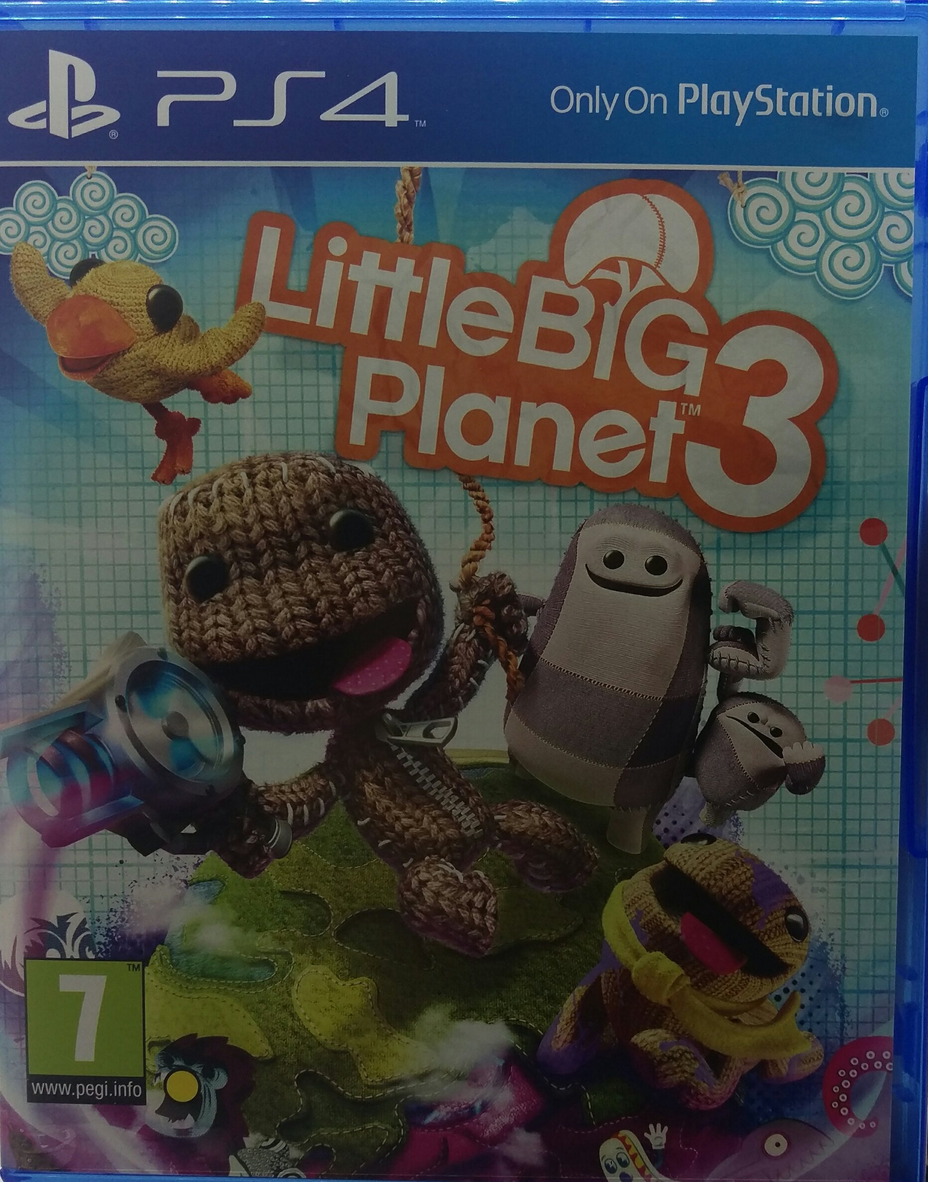 Little Big Planet 3 Playstation 4 Ps4