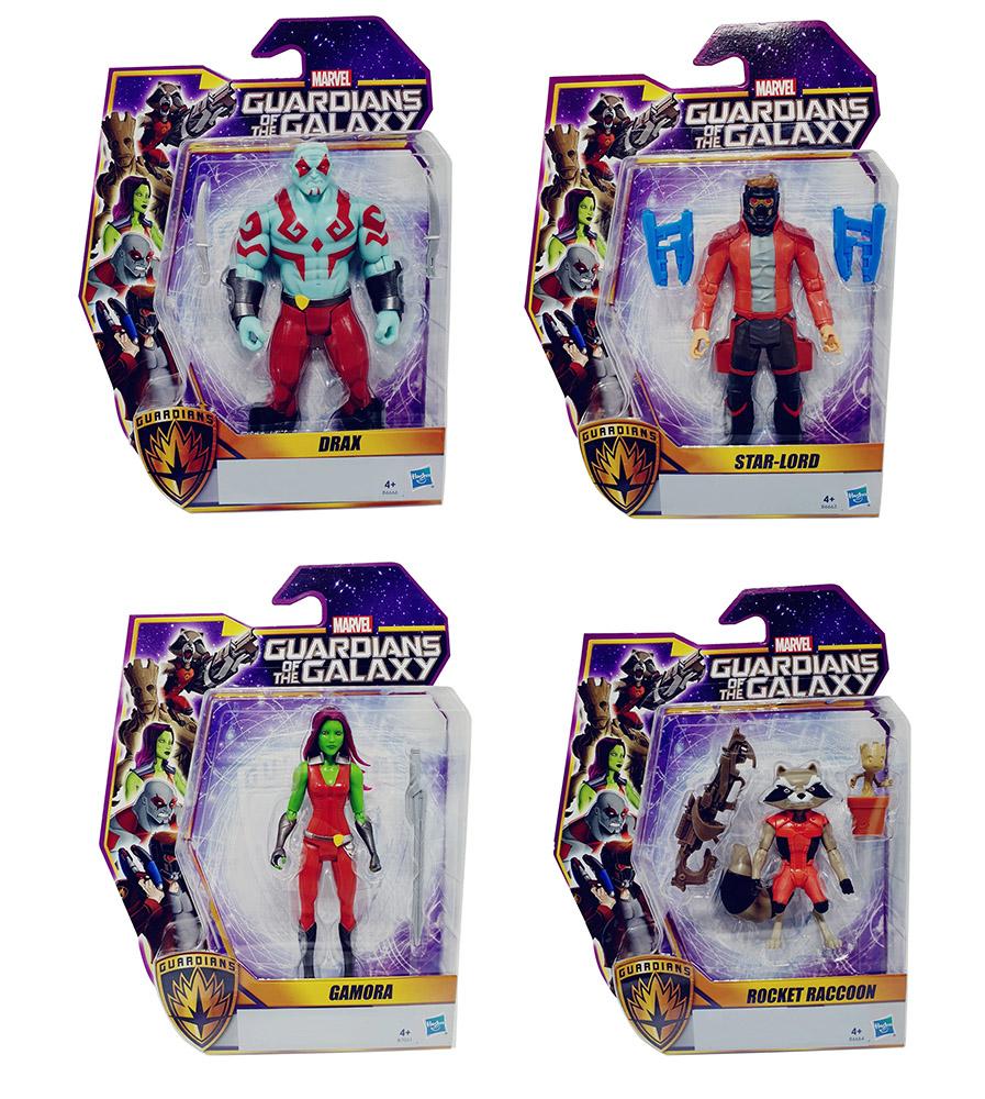 Guardians of the Galaxy Spielfiguren mit Zubehör versch. Charaktere (Auswahl)