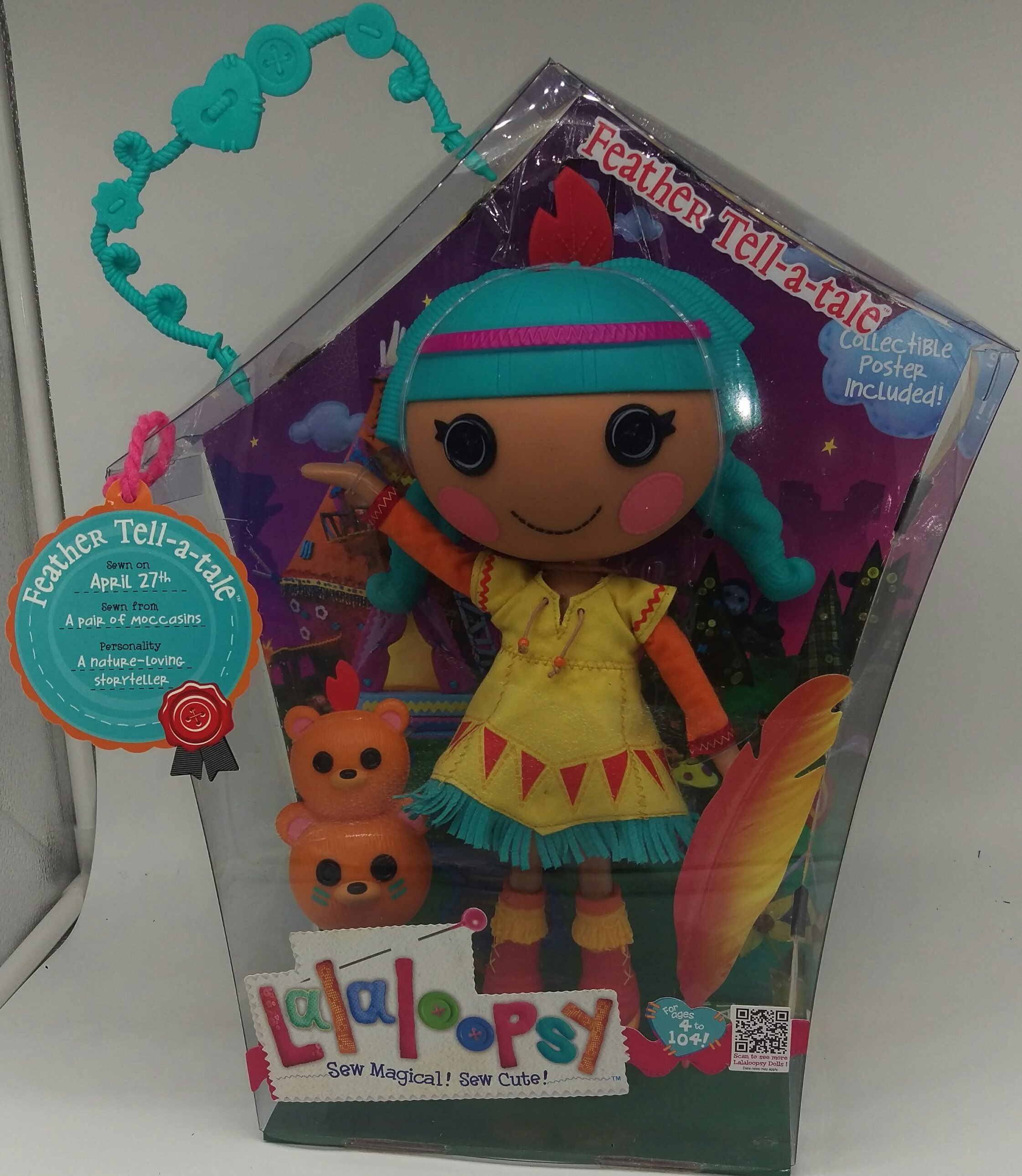 MGA Entertainment 512400E5C - Lalaloopsy Puppe Feather Tell-a-Tale