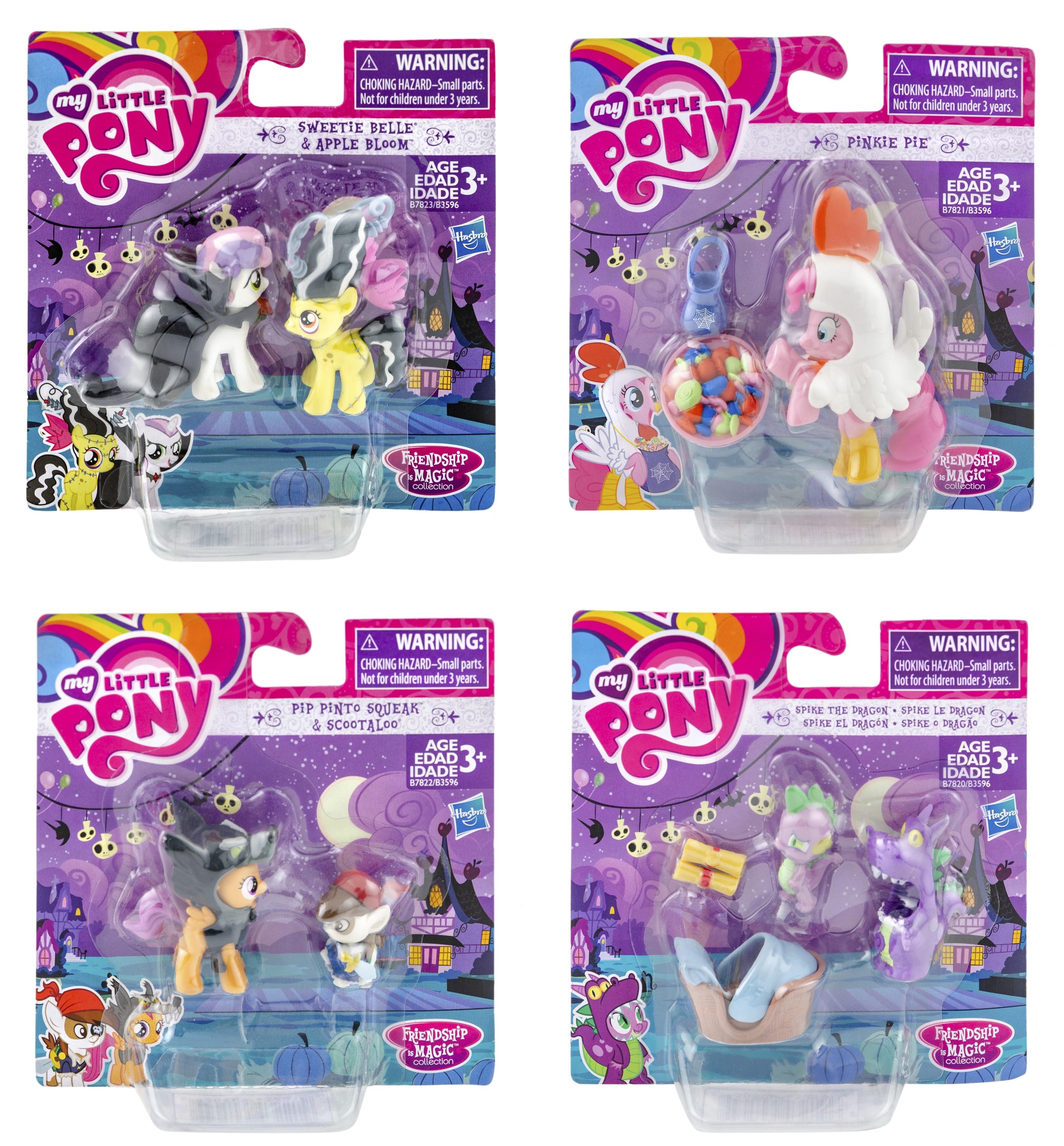 My Little Pony Nightmare Night Sammelfiguren B3596 (Auswahl)