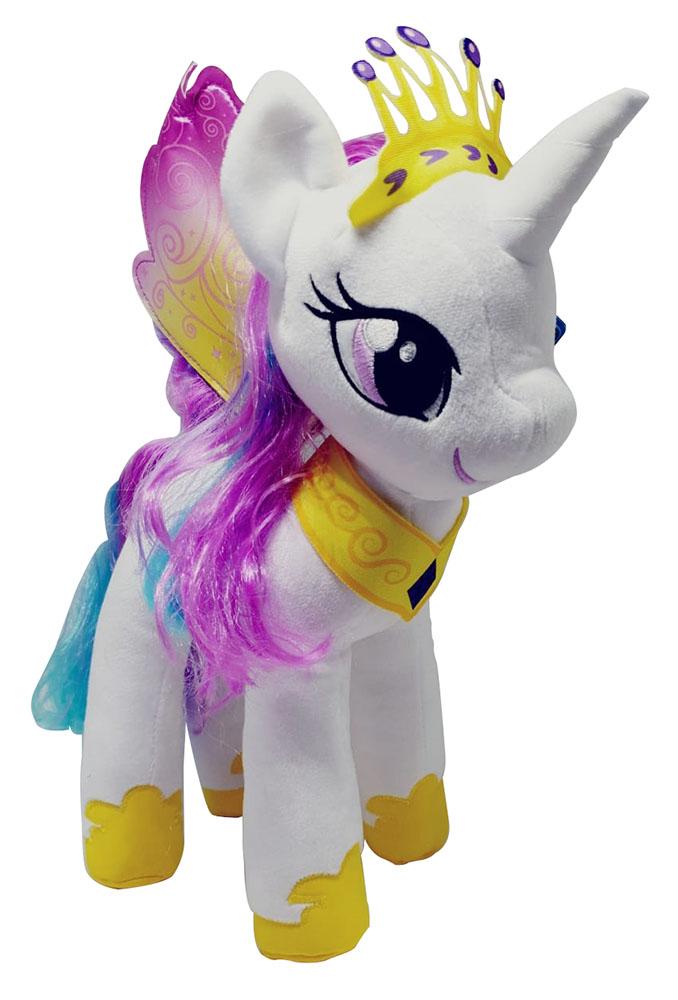 Hasbro My Little Pony Prinzessin Celestia mit Krone und Flügeln Plüschfigur 35cm