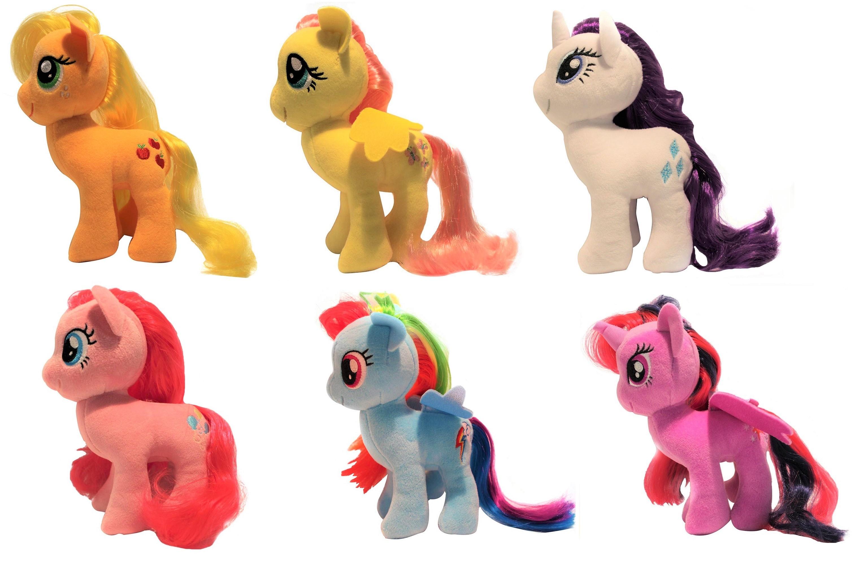 Hasbro My Little Pony Plüschpony mit kämmbarer Mähne 17 cm (Auswahl)