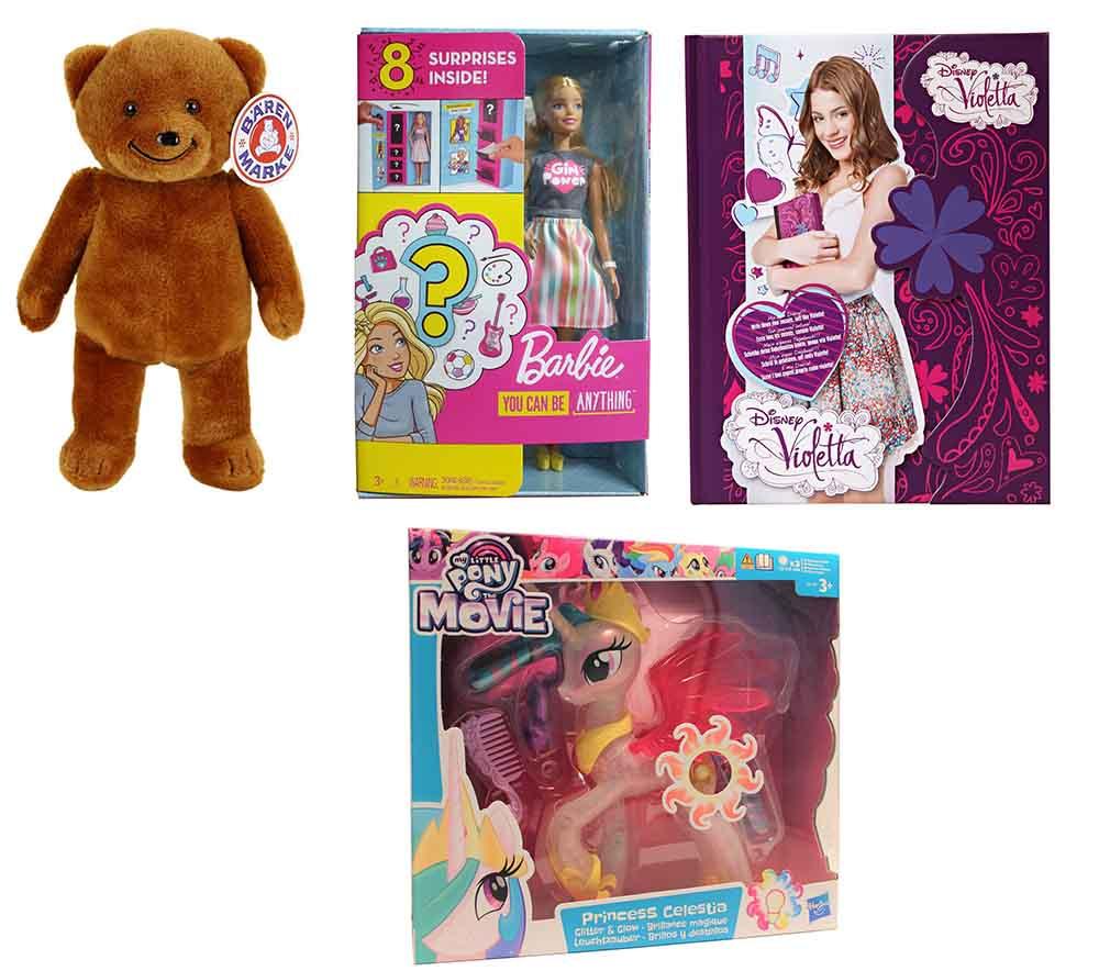 Disney VIOLETTA Barbie Berufe Bärenmarke Hasbro My Little Pony GFX84 27486