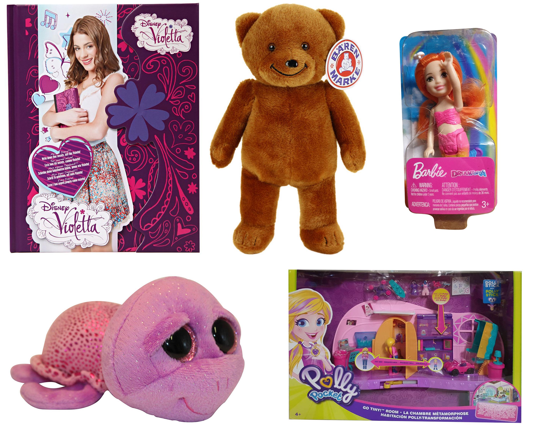 Disney VIOLETTA Bärenmarke Barbie Dreamtopia Polly Pocket Beanie Boo´s Slow-Poke