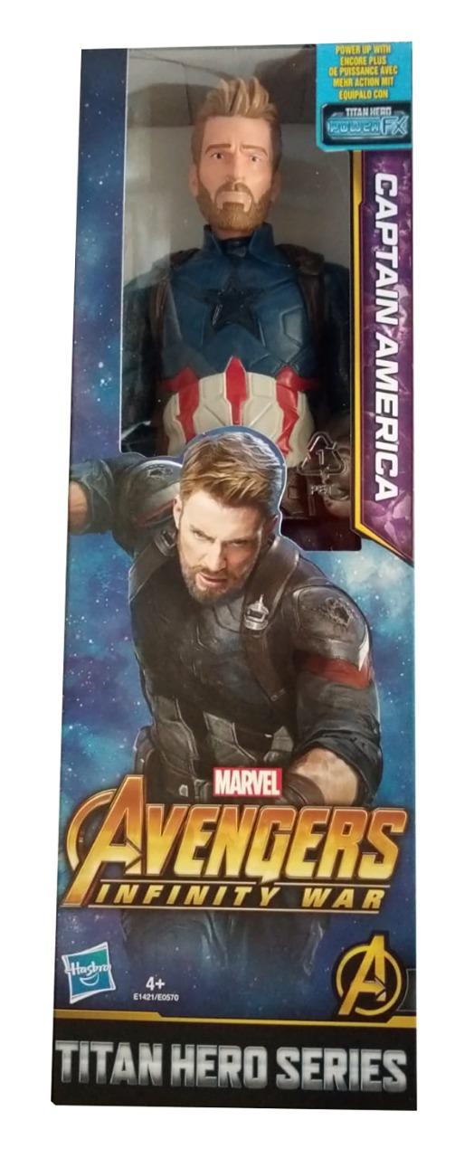 Avengers Captain America Film Action-Figur Infinity War Titan Hero Series 30cm