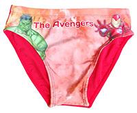 Marvel Avengers Hulk und Iron Man  Marvel Jungen Bade Slip, Badehose, rot, Gr. 140