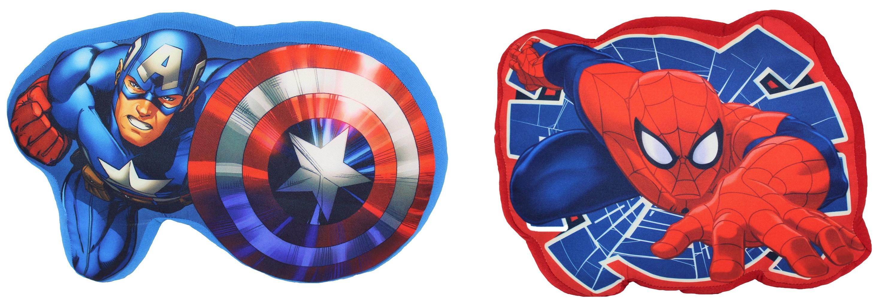 Marvel Formkissen mit Superhelden für Kinder (Auswahl)