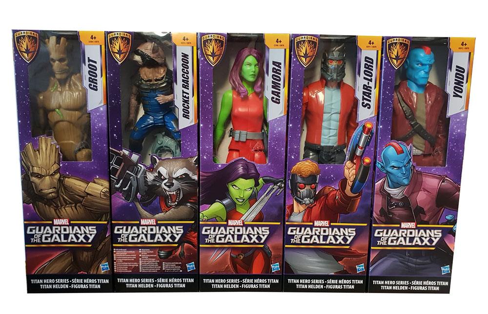 Guardians of the Galaxy versch. Action-Figuren Titan Hero Series (Auswahl)