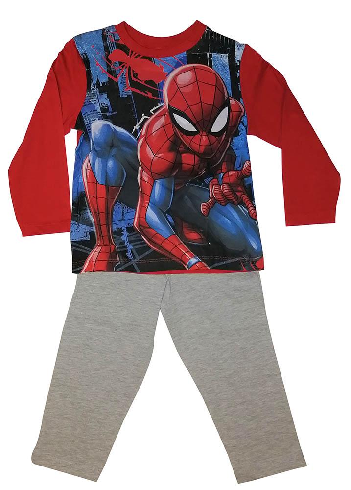 Marvel Schlafanzug Spider-Man in the City Pyjama rot für Kinder (Auswahl)