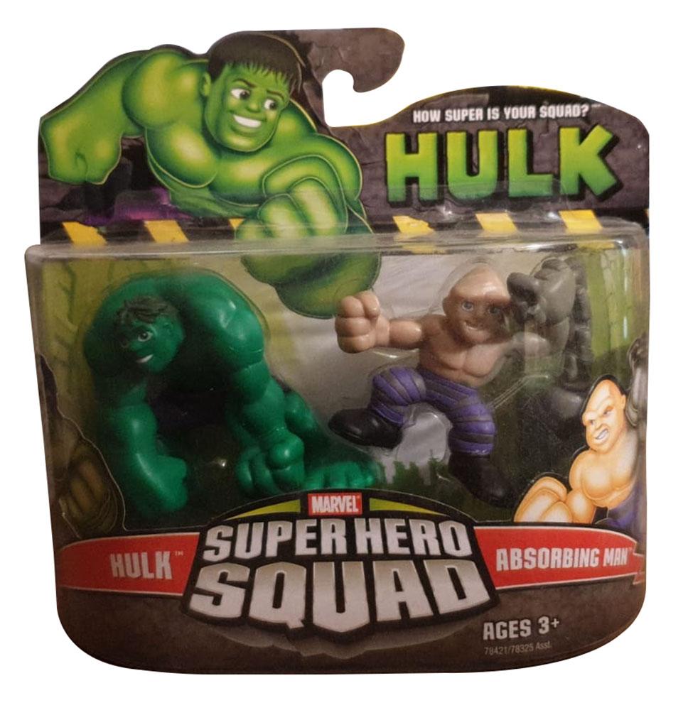 Marvel Super Hero Squad Hulk und Absorbing Man Actionfigur von Hasbro