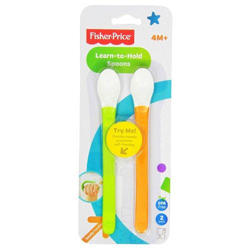 Mattel 25Y3510 - Flexible Löffel für Babys