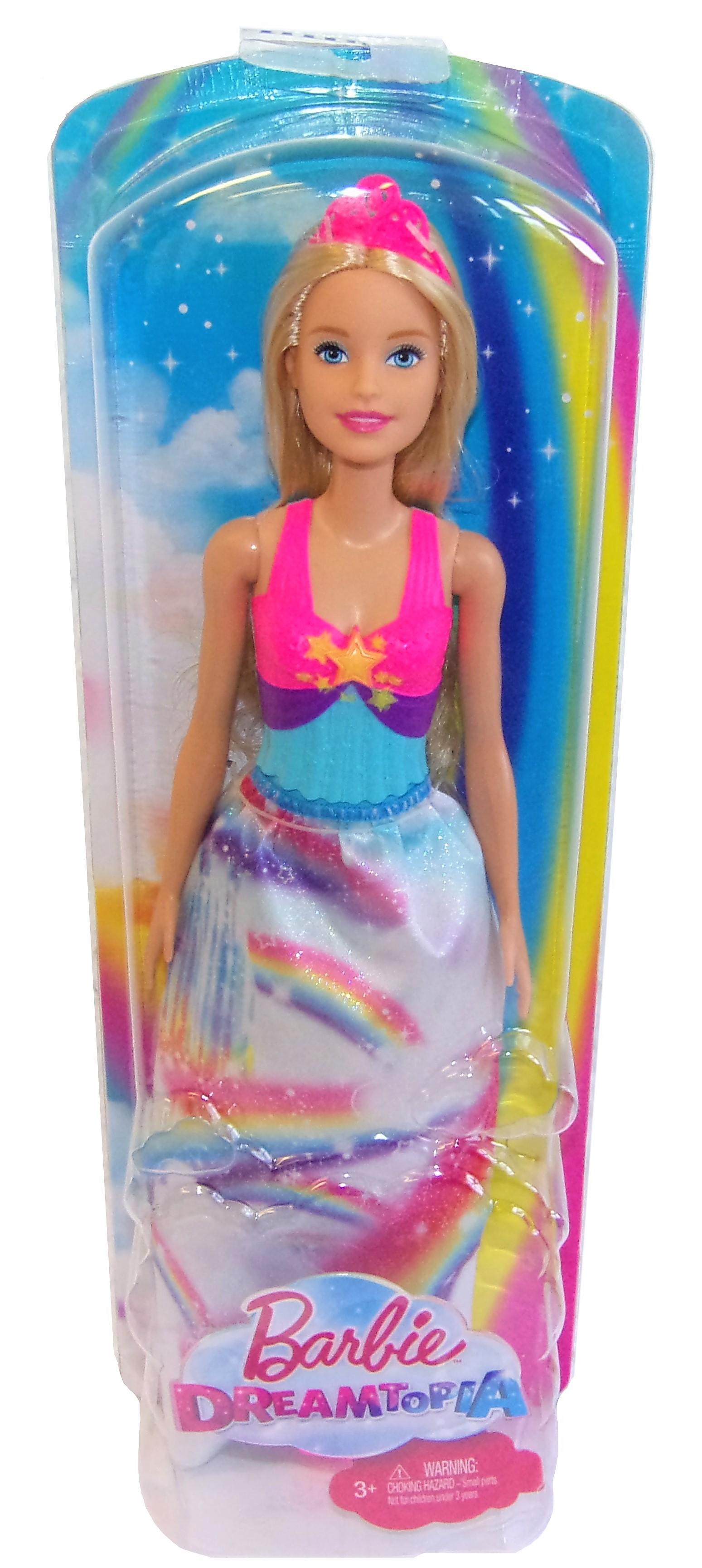 Mattel Barbie Regenbogen-Prinzessin Dreamtopia FJC95