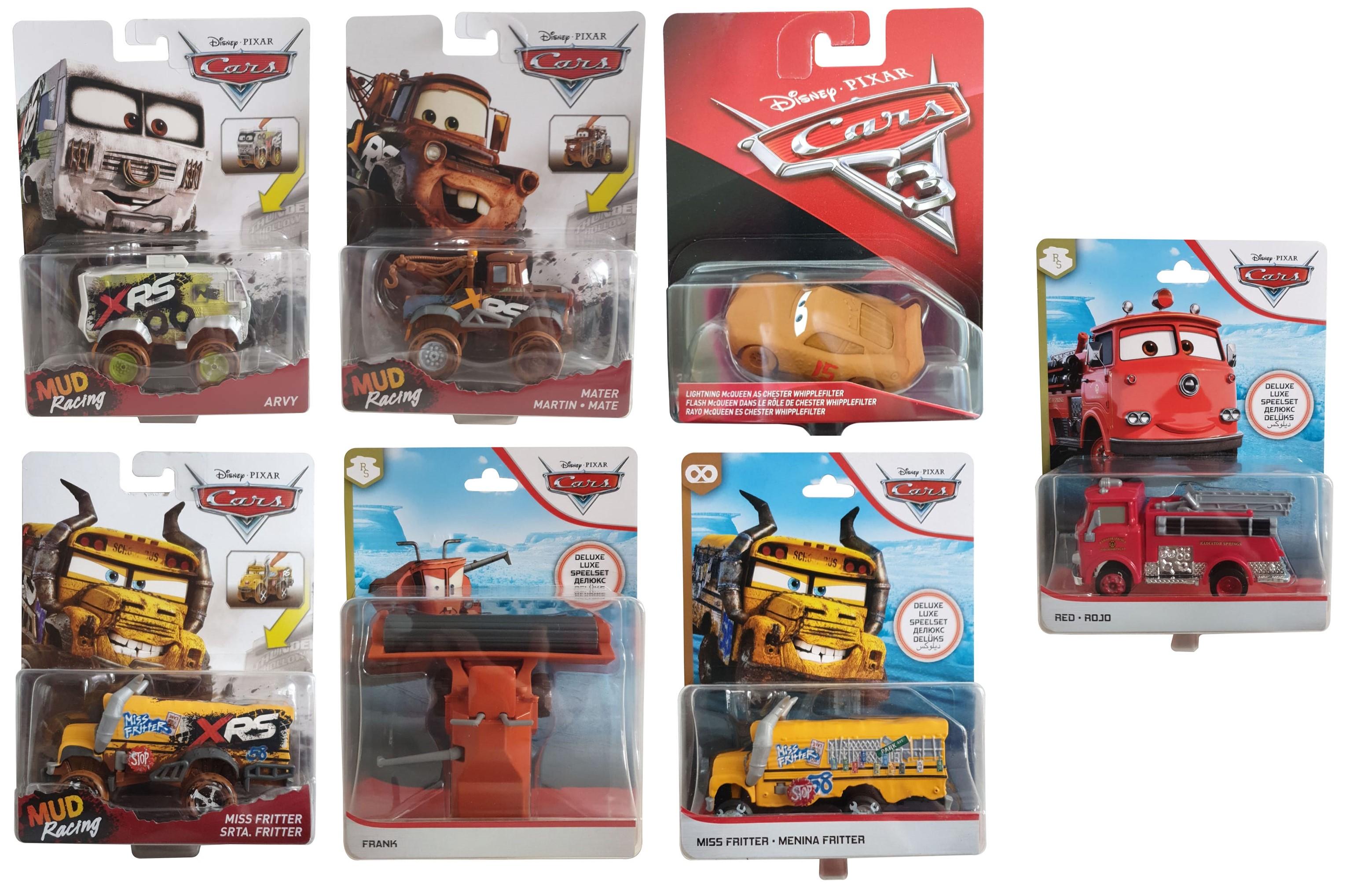 Disney Die-Cast Spielzeugauto Deluxe verschiedene Modelle Actionauto ( Auswahl )
