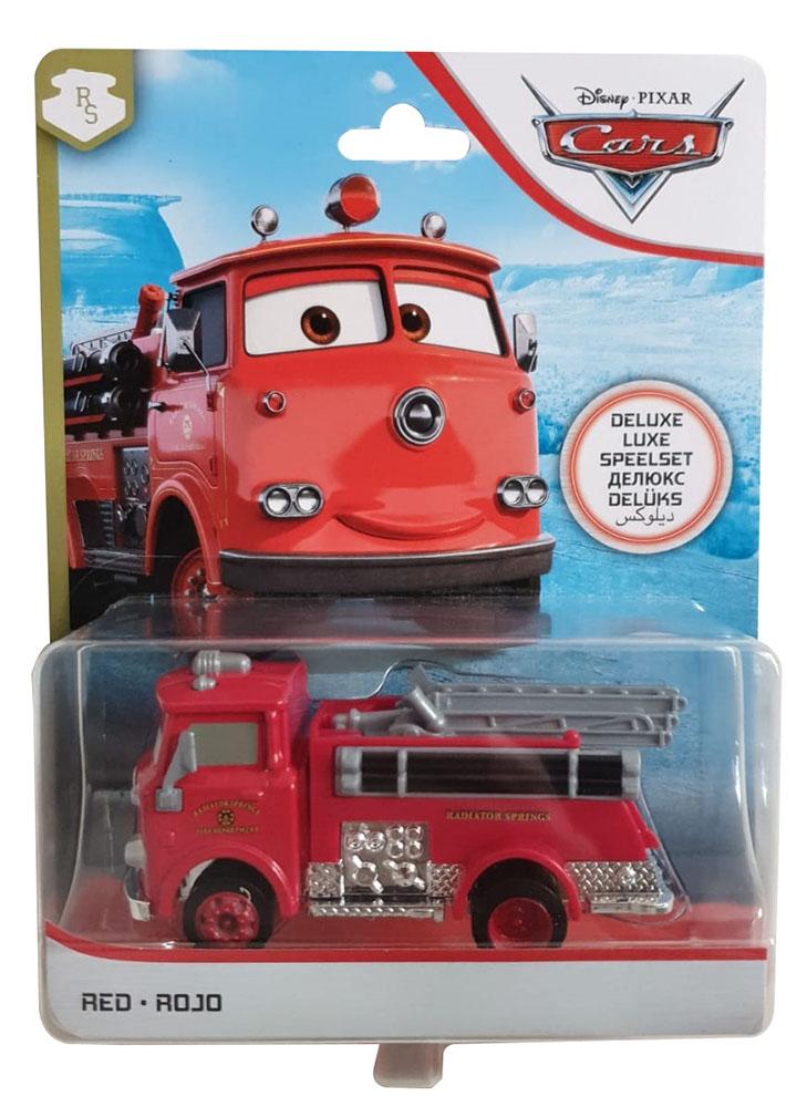 Disney Die-Cast Spielzeugauto Deluxe Red FJJ00 von Cars Spielzeugauto Actionauto