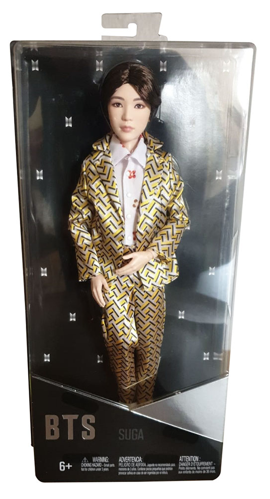 Mattel GKC92 - BTS Suga Figur Bangtan Sonyeondan Fanartikel zum sammeln