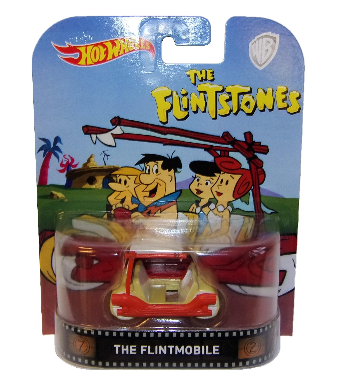 Mattel Hot Wheels The Flintmobile DMC55