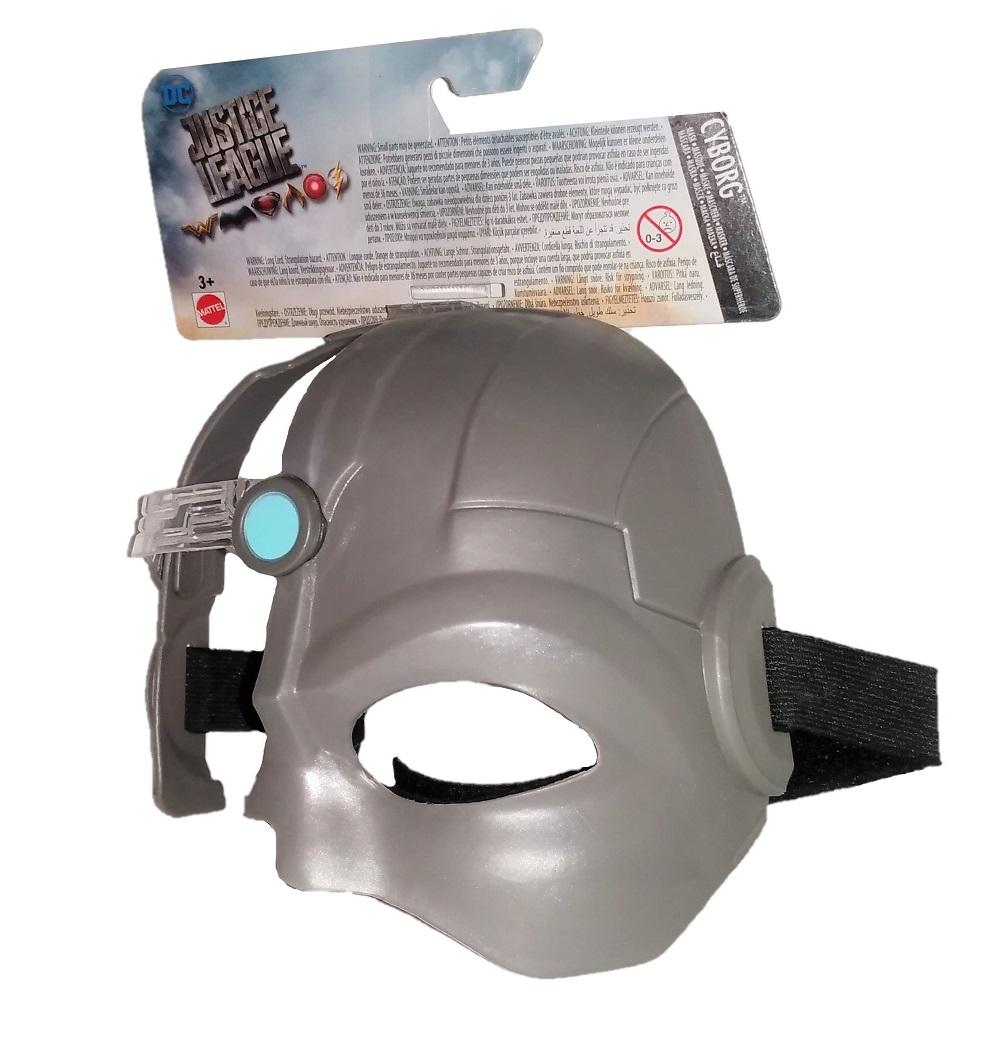 Mattel Maske Cyborg Justice League FGM07 grau