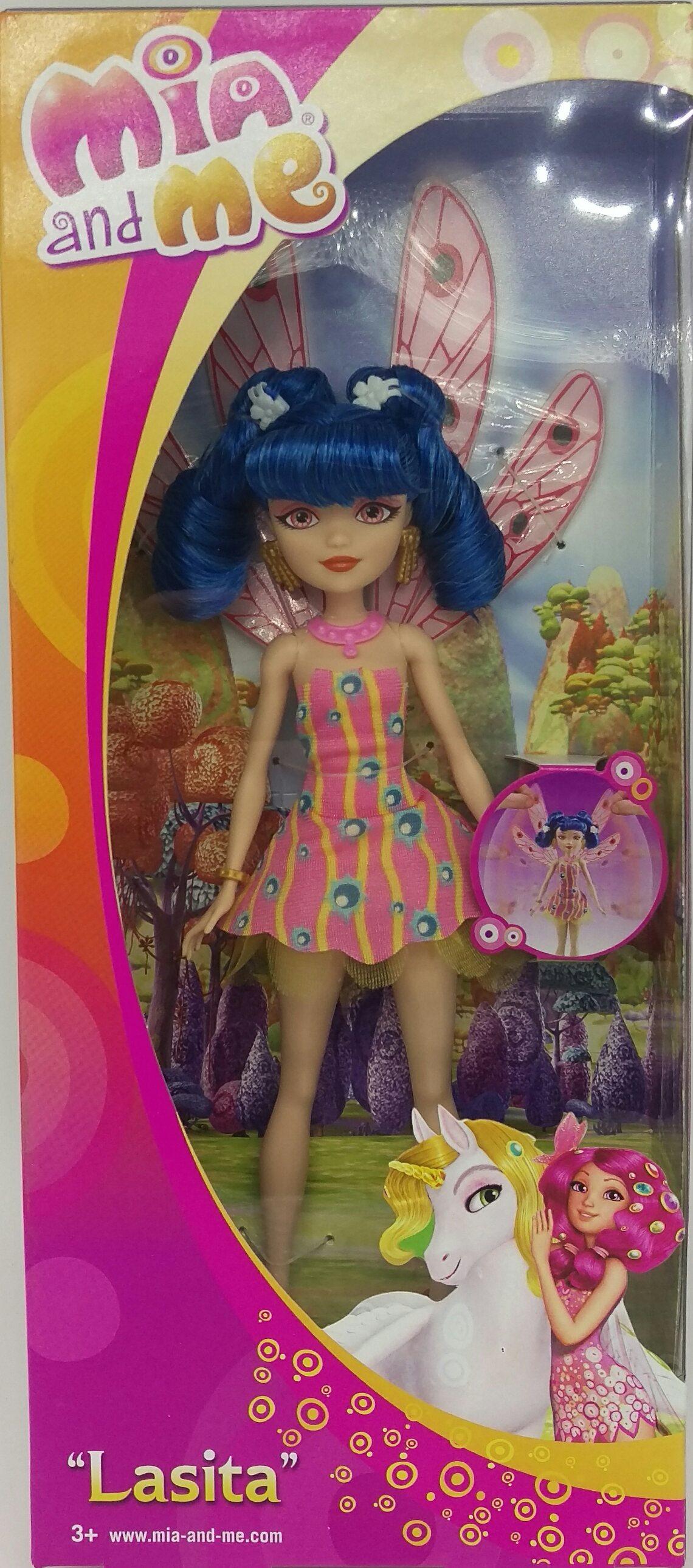 Mattel Mia and Me DHL66 - Modepuppen, Lasita Puppe