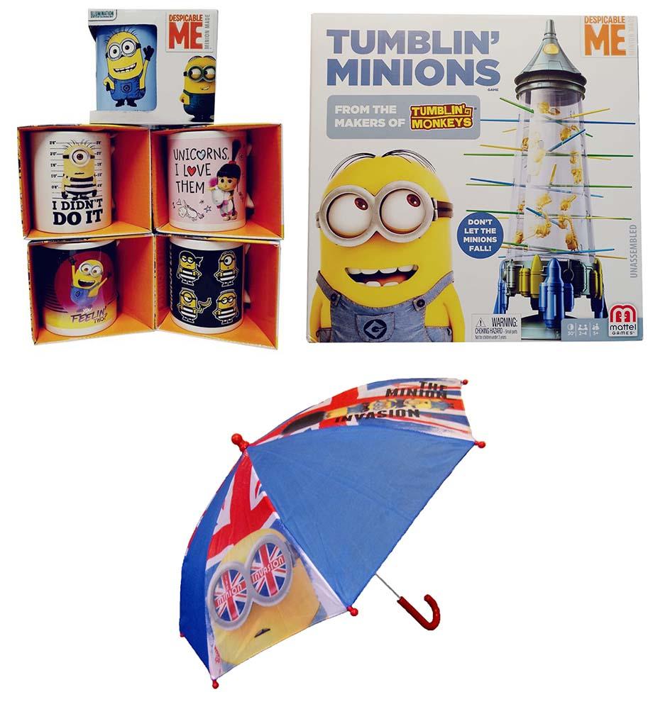 Mattel Minions Ich Einfach unerbesserlich Carl Agnes Dave Minions Life Unicorns