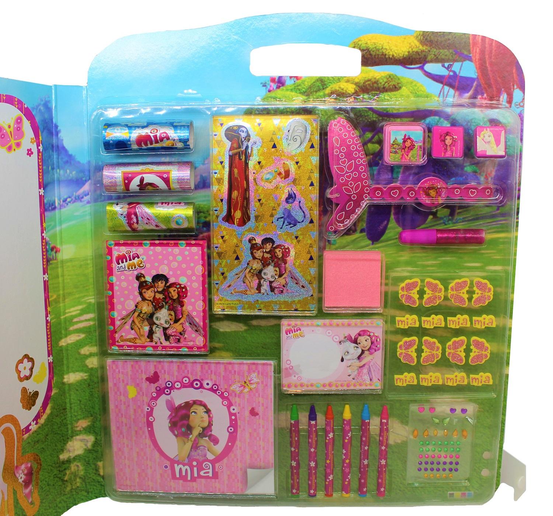 Mia and Me Mega Design-Set mit Sticker und Stiften 40-teilig