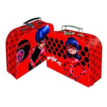 Miraculous Spielkoffer mit LadyBug Rot
